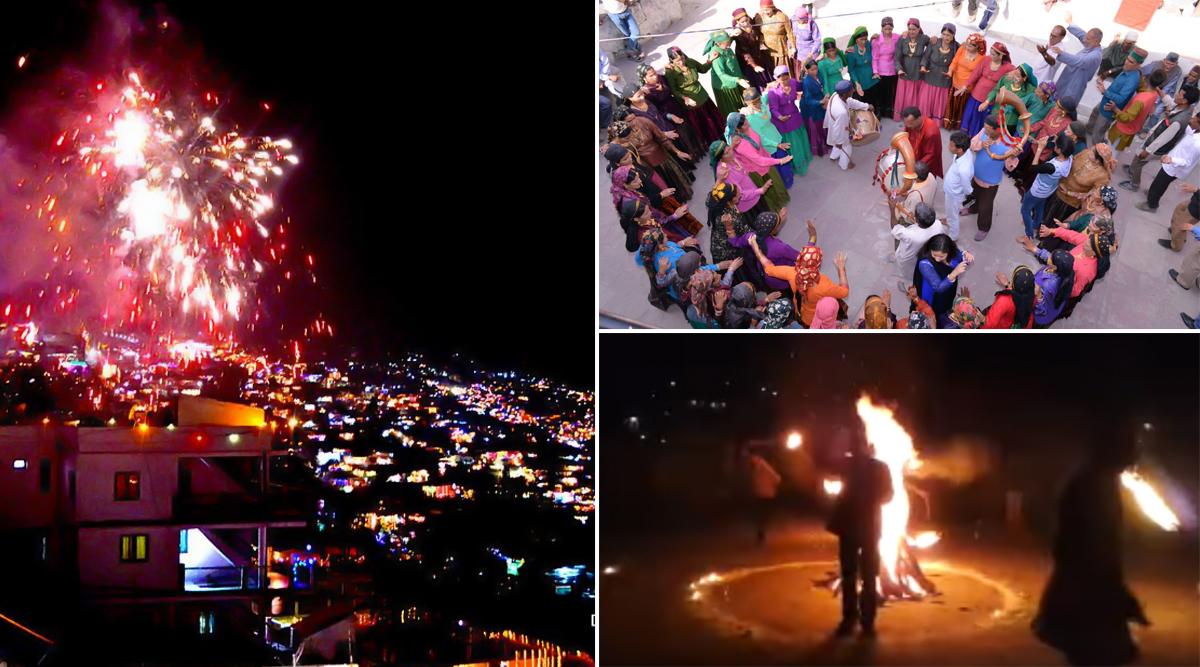 Diwali 2019: देवभूमि उत्तराखंड में बेहद खास अंदाज में मनाया जाता है दीपों का त्योहार, भैलो और झुमैलो के साथ पहाड़ों में ऐसे मनाते हैं 'बग्वाल'