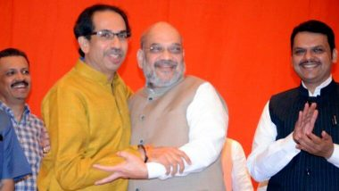 महाराष्ट्र: शिवसेना और बीजेपी के बीच सत्ता को लेकर जारी तनातनी को कम करने के लिए उद्धव ठाकरे से मिलेंगे अमित शाह?