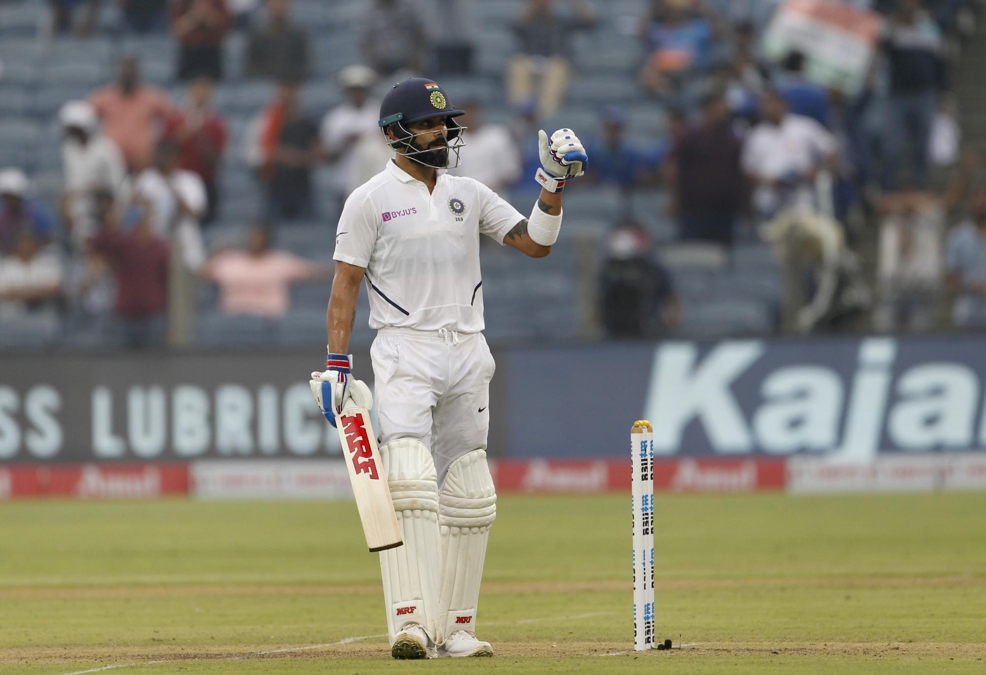 विराट कोहली 50 टेस्ट मैचों में कप्तानी करने वाले दूसरे भारतीय बने