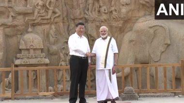 चीनी राष्ट्रपति शी जिनपिंग से तमिल लिबास में मिले पीएम नरेंद्र मोदी, महाबलीपुरम में शुरू हुआ भारत-चीन दोस्ती का नया अध्याय