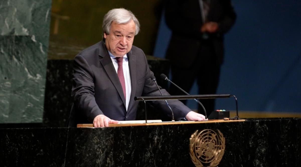 संयुक्त राष्ट्र महासचिव एंटोनियो गुटेरेस ने बाल गरीबी खत्म करने का किया आह्वान
