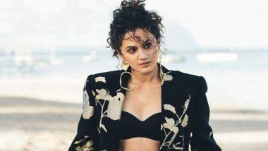 तापसी पन्नू का दावा, कहा- कई एक्टर्स की फीस महिला प्रधान फिल्मों के बजट के बराबर