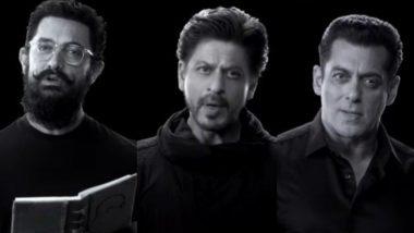 गांधीजी के संदेश के लिए साथ आए आमिर, शाहरुख और सलमान खान, पीएम मोदी ने शेयर किया वीडियो