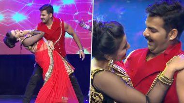 Bhojpuri Hot Video: अक्षरा सिंह ने पवन सिंह के साथ भोजपुरी सॉन्ग 'रात दिया बुताके' पर किया हॉट डांस, Video हुआ Viral