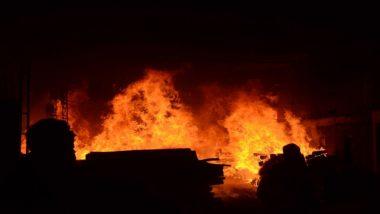 महाराष्ट्र: सोलापुर एयरपोर्ट पर लगी आग, घटना स्थल पर दमकल की गई गाडियां मौजूद