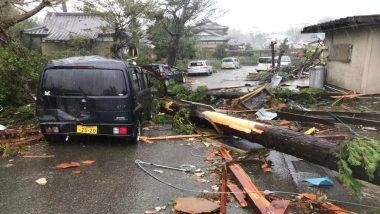 जापान में तूफान हगिबिस ने बरपाया कहर, मूसलाधार बारिश में अबतक 18 की हुई मौत