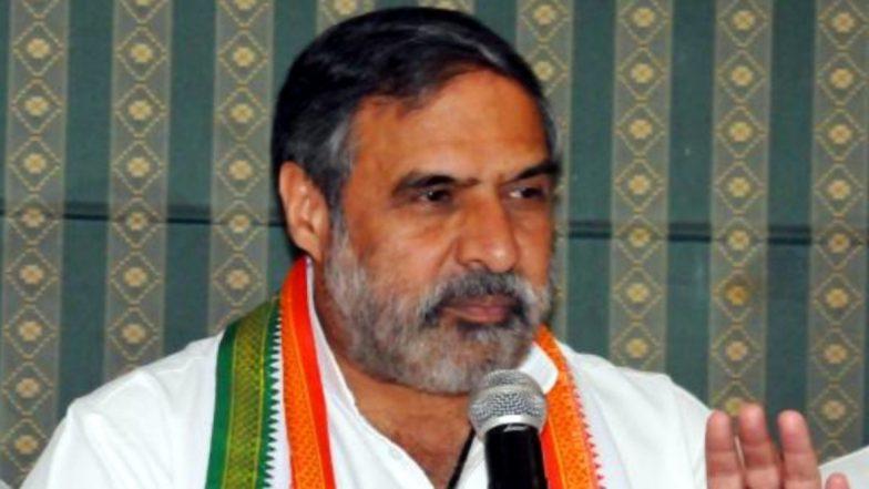 कांग्रेस पार्टी के वरिष्ठ प्रवक्ता आनंद शर्मा ने लगाया आरोप, कहा- अर्थव्यवस्था पर ध्यान देने की बजाय एजेंसियों के दुरुपयोग में लगी है सरकार