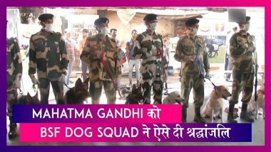 Mahatma Gandhi 150th Birth Anniversary: BSF Dog Squad, Air India ने स्वच्छता मिशन को किया प्रमोट