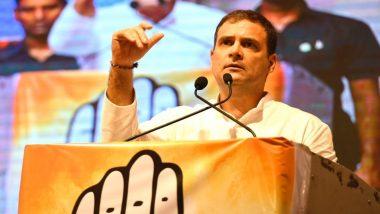 कांग्रेस नेता राहुल गांधी बीजेपी सरकार पर किया वार, कहा- पूर्व पीएम मनमोहन सिंह के समय मजबूत थी अर्थव्यवस्था