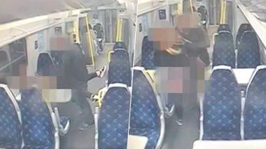 Couple Sex in Train Viral Video: शराब के नशे में चूर कपल ने चलती ट्रेन में किया सेक्स, CCTV में कैद हुई गंदी हरकत