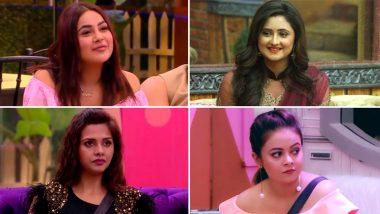 Bigg Boss 13 Day 8 Highlights: शहनाज गिल, रश्मि देसाई, दलजीत कौर और कोएना मित्रा हुईं नोमिनेट