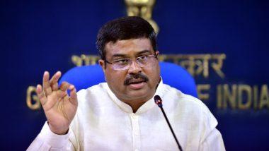 केंद्रीय पेट्रोलियम मंत्री धर्मेंद्र प्रधान ने कहा- भारत ने अनुच्छेद 370 को रद्द कर ऐतिहासिक गलती सुधारी