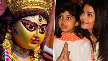 HD PICS: ऐश्वर्या राय बच्चन ने बेटी आराध्या के साथ ऐसे मनाया दशहरा का त्यौहार