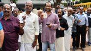 केरल विधानसभा चुनाव 2019: बारिश के बावजूद मतदान केंद्रों पर पहुंच रहे हैं लोग, वोटिंग जारी
