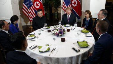 उत्तर कोरिया ने निरस्त्रीकरण के मुद्दे पर यूएस के साथ वार्ता किया स्थगित, अमेरिका ने एक और बैठक की बनाई योजना