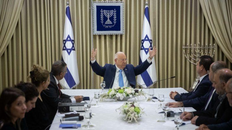 इजरायल के सांसदों ने नई सरकार के गठन के बिना ली शपथ, 22वें कनेसेट के शुभारंभ के अवसर पर किया गया आयोजन