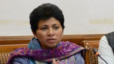 कांग्रेस नेता कुमारी शैलजा ने बीजेपी पर कसा तंज, कहा- हरियाणा में NRC और अनुच्छेद 370 कोई मुद्दा नहीं