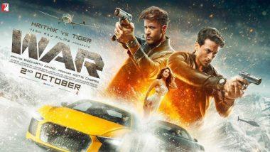 ऋतिक रोशन और टाइगर श्रॉफ स्टारर 'वॉर' बनी अब तक की 10वीं सबसे ज्यादा कमाई करने वाली हिंदी फिल्म