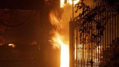 मध्यप्रदेश: इंदौर के गोल्डन गेट होटल में लगी आग, 6 लोगों की बचाई गई जान