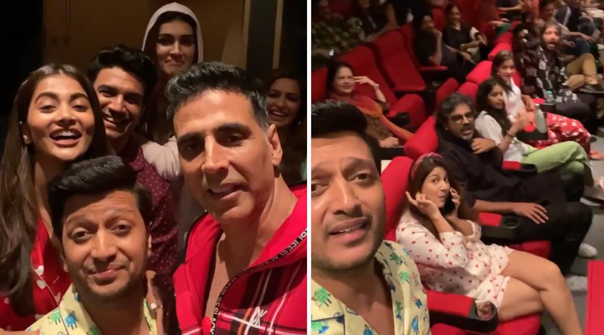 बॉबी देओल के कारण 'हाउसफुल 4' की स्क्रीनिंग में हुई देरी, अक्षय कुमार-रितेश देशमुख ने Video शेयर करके लगाई एक्टर की क्लास