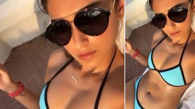 हॉट एक्ट्रेस इलियाना डीक्रूज ने सेक्सी स्विम सूट में दिखाया अपना दिलकश अंदाज, देखें Video