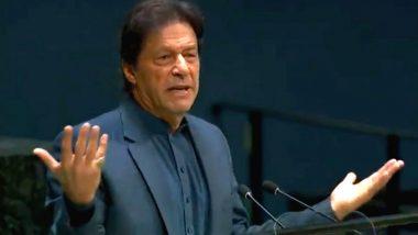 पाकिस्तानी पीएम इमरान खान ने कश्मीर का उठाया मुद्दा, कहा- कश्मीरियों के लिए इंसाफ सुनिश्चित करने से भारत-पाकिस्तान के बीच संवाद के नए रास्ते खुलेंगे