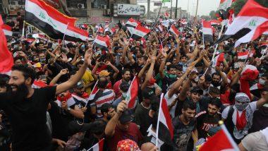 इराक में सरकार के विरोध में प्रदर्शन, अब तक 74 की मौत, 3600 से अधिक लोग घायल