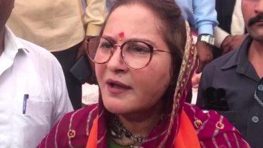 बीजेपी नेता जया प्रदा बोली-बेटियों के खिलाफ अपराध मामलों को फास्ट ट्रैक कोर्ट में लाया जाए और आरोपी को फांसी की सजा दी जाए