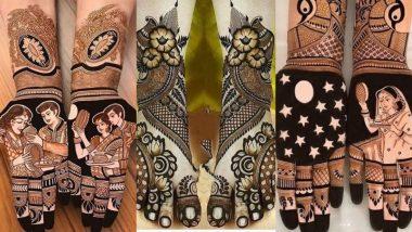 Karwa Chauth 2019 Mehndi Designs: करवा चौथ पर अपने हाथों और पैरों में लगाएं मेहंदी, देखें लेटेस्ट और आकर्षक डिजाइन्स