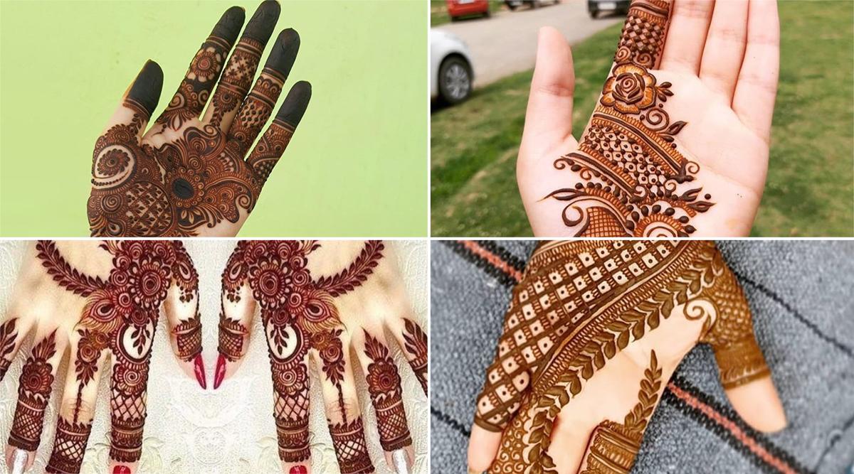 Diwali 2019 5 Minute Indian Mehndi Designs: इस दिवाली अपनी हथेली पर रचाएं ये मेहंदी, देखें बेहतरीन डिजाइन्स