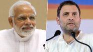 Happy Birthday, PM Narendra Modi: राहुल गांधी ने पीएम मोदी को दी जन्मदिन की बधाई, ट्वीट कर कहा- हैप्पी बर्थडे मोदीजी