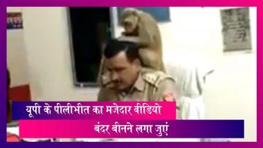 Viral Video: पुलिसवाले के सिर पर बैठा बंदर बीनने लगा जुएं, वीडियो हुआ वायरल
