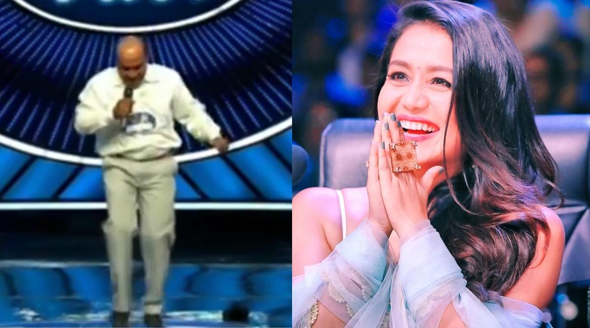 Viral Video: Indian Idol ऑडिशन में गाना गा रहेशख्स के सिर से गिरा विग, देखकर नेहा कक्कड़ भी हुईं हैरान