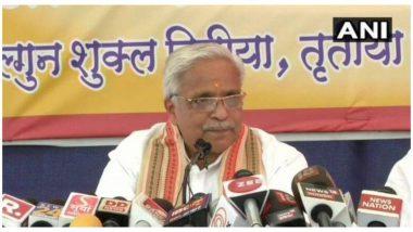 आरएसएस सरकार्यवाह भैयाजी जोशी बोले, उन्हें ऐसा नहीं लगता कि देश में हिंदू नेता असुरक्षित हैं