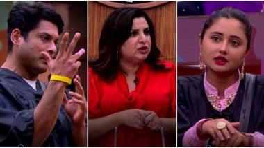 बिग बॉस 13: रश्मि देसाई के नखरे देखकर गुस्साई फराह खान, बीच में छोड़ा शो! देखें Video