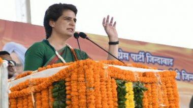 कांग्रेस महासचिव प्रियंका गांधी वाड्रा रायबरेली में 3 दिवसीय कार्यशाला करेंगी आयोजित