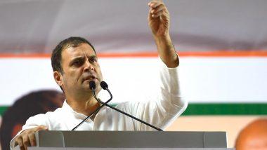 महाराष्ट्र विधानसभा चुनाव 2019: राहुल गांधी ने मुंबई में चुनाव प्रचार के दौरान उठाया राफेल का मुद्दा, देखें Video