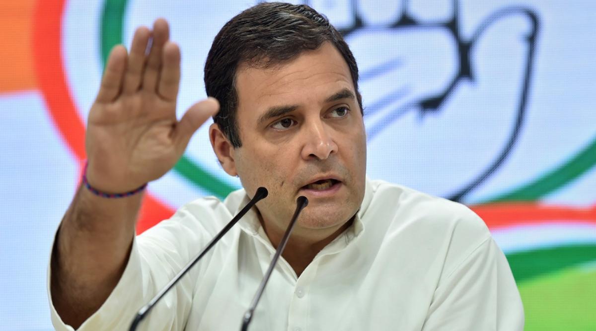 राहुल गांधी का पीएम मोदी और अमित शाह पर हमला, कहा- वे हमारे भारत को बांटकर नफरत के पीछे छिप रहे हैं