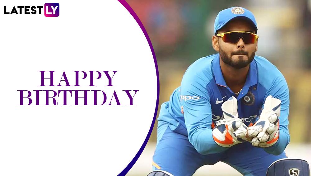 Happy Birthday Rishabh Pant: ऋषभ पंत के 22वें जन्मदिन पर जानिए उनके क्रिकेट से जुड़ी रोचक बातें