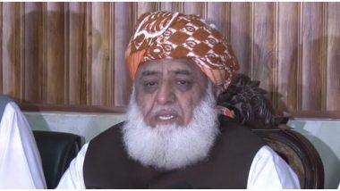 पाकिस्तान: जमीयत उलेमाए इस्लाम-फजल के प्रेसिडेंट मौलाना फजलुर रहमान की बढ़ सकती हैं मुश्किलें, किये जा सकते हैं नजरबंद