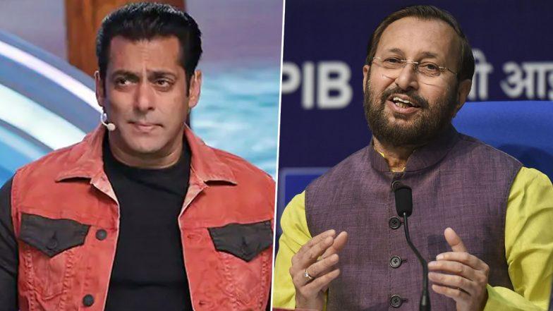 लव जिहाद के आरोप में फंसा सलमान खान का शो 'बिग बॉस 13', केंद्रीय मंत्री प्रकाश जावड़ेकर को लिखा गया पत्र