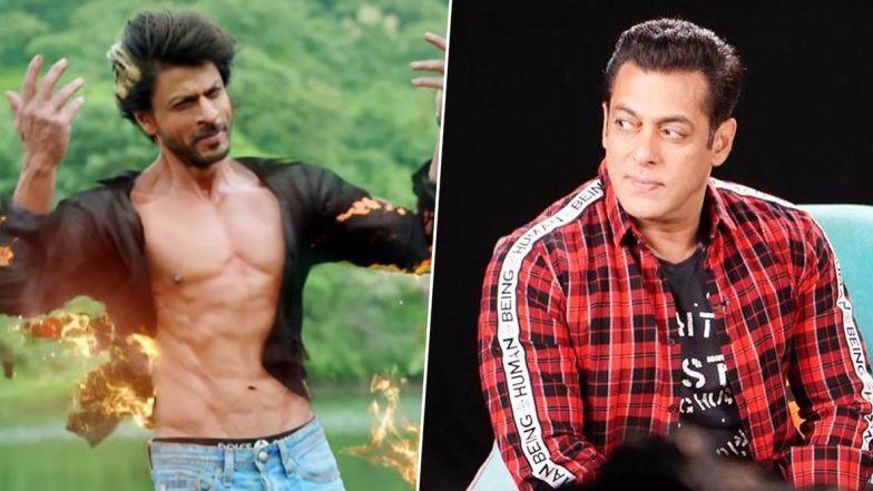शाहरुख खान की दिलेरी देख उनके कायल हुए सलमान, वीडियो शेयर कर किया सलाम