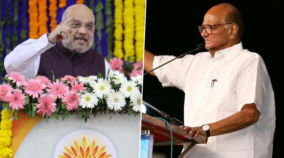 महाराष्ट्र विधानसभा चुनाव: अनुच्छेद 370 को लेकर शरद पवार और अमित शाह के बीच वाकयुद्ध