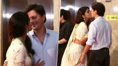 श्रिया सरन ने पतिएंड्रे कोसचीव को लिफ्ट के बाहर किया Kiss, दिवाली पार्टी से हॉट Video हुआ Viral