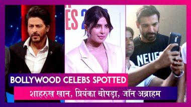 Shah Rukh Khan Ted Talks के प्रेस कॉन्फ्रेंस में, Priyanka Chopra भी हुईं स्पॉट | Celebs Spotted