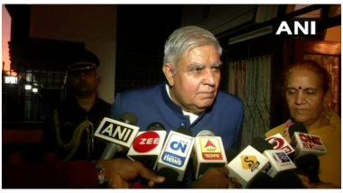 मुर्शिदाबाद हत्या कांड: पश्चिम बंगाल के राज्यपाल जगदीप धनखड़ ने घटना पर जताया दुःख, अधिकारियों से मांगी रिपोर्ट