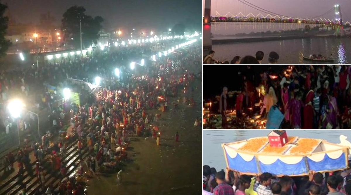 Karthik Purnima 2019: वाराणसी के दशाश्वमेघ घाट पर लोगों ने लगाई आस्था की डूबकी, अयोध्या में भी उमड़ी श्रद्धालुओं की भीड़, देखें तस्वीरें
