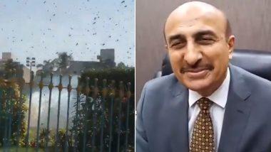 पाकिस्तान: टिड्डियों के झुंड से निपटने में असमर्थ कराची के लोगों को सिंध के मंत्री ने दी बिरयानी बनाने की सलाह