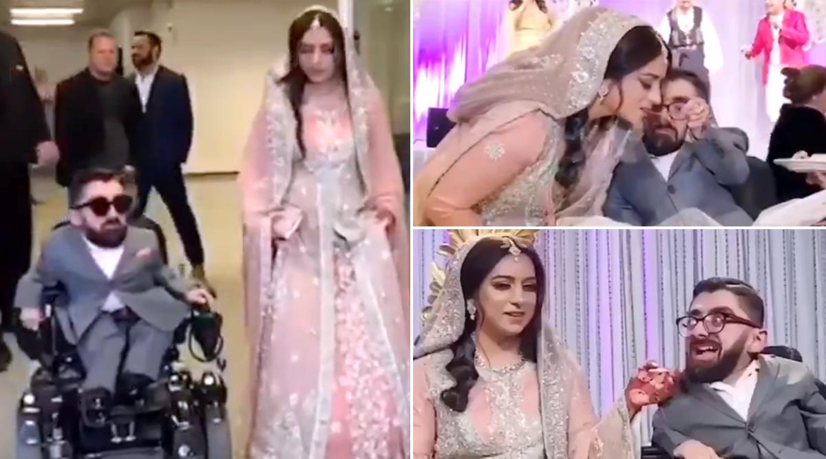 दो फुट के बुरहान चिश्ती ने 6 फुट लंबी लड़की से की शादी, इंटरनेट पर वीडियो और तस्वीरें वायरल