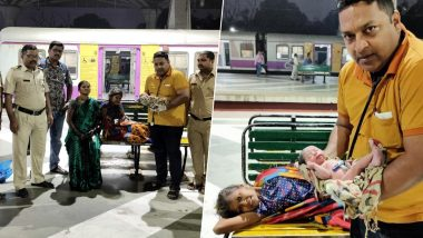 मुंबई: नेरुल से पनवेल जा रही महिला ने रेलवे स्टेशन पर बच्चे को दिया जन्म